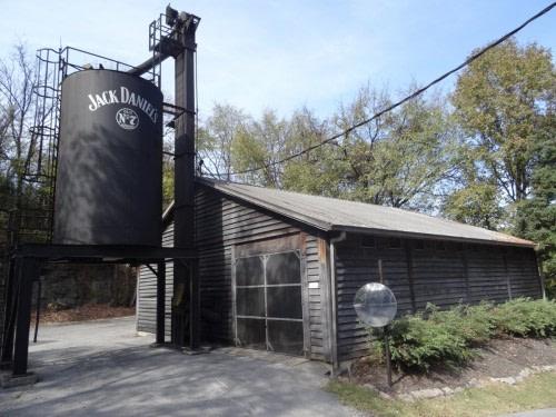 Distillery Jack Daniel's à Lynchhurg tennessee