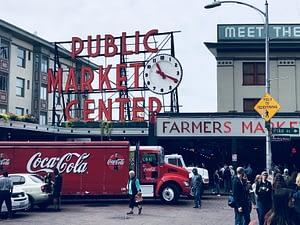 Visite de Seattle Pike Place Market