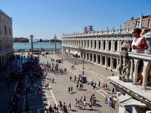 Visite de Venise 19 juin 2017 Place San Marco