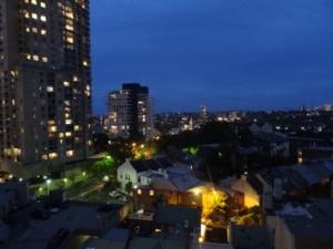 Sydney vue de notre appart