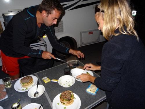Repas préparé  par Manon et Jérémy