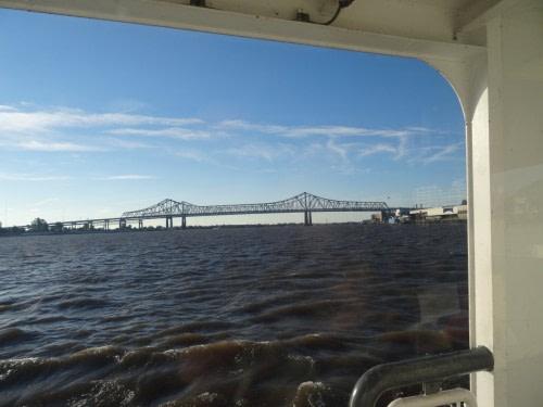 Ferry pour rejoindre la Nouvelle Orléans