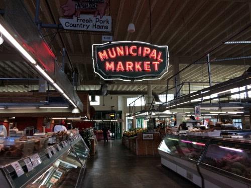 Atlanta Sweet Aubrun Curb Marketing, un des plus vieux marchés des États Unis
