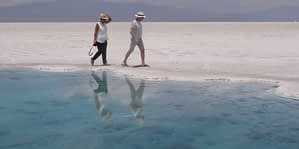 Salinas Grandes désert de sel