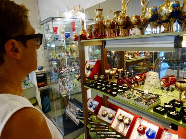 Visite de Venise Murano 19juin 2017
