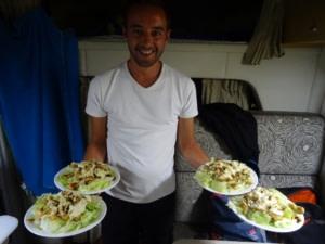 La salade César de Jérémy