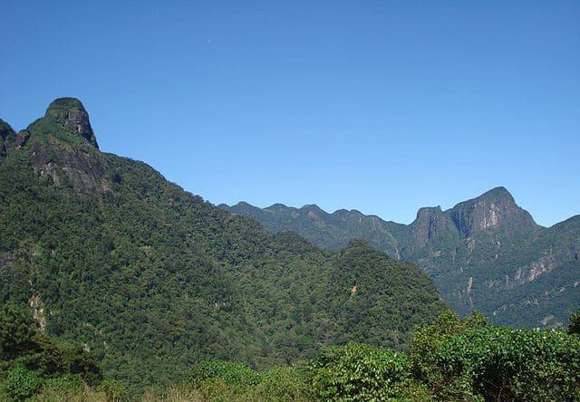 Sri Lanka - montagnes Knuckles Ranges