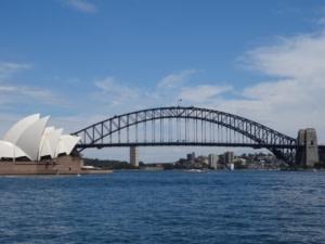 Sydney Opéra House et Sydney Harbour Bridg