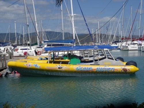 Notre bateau pour notre journée de croisière