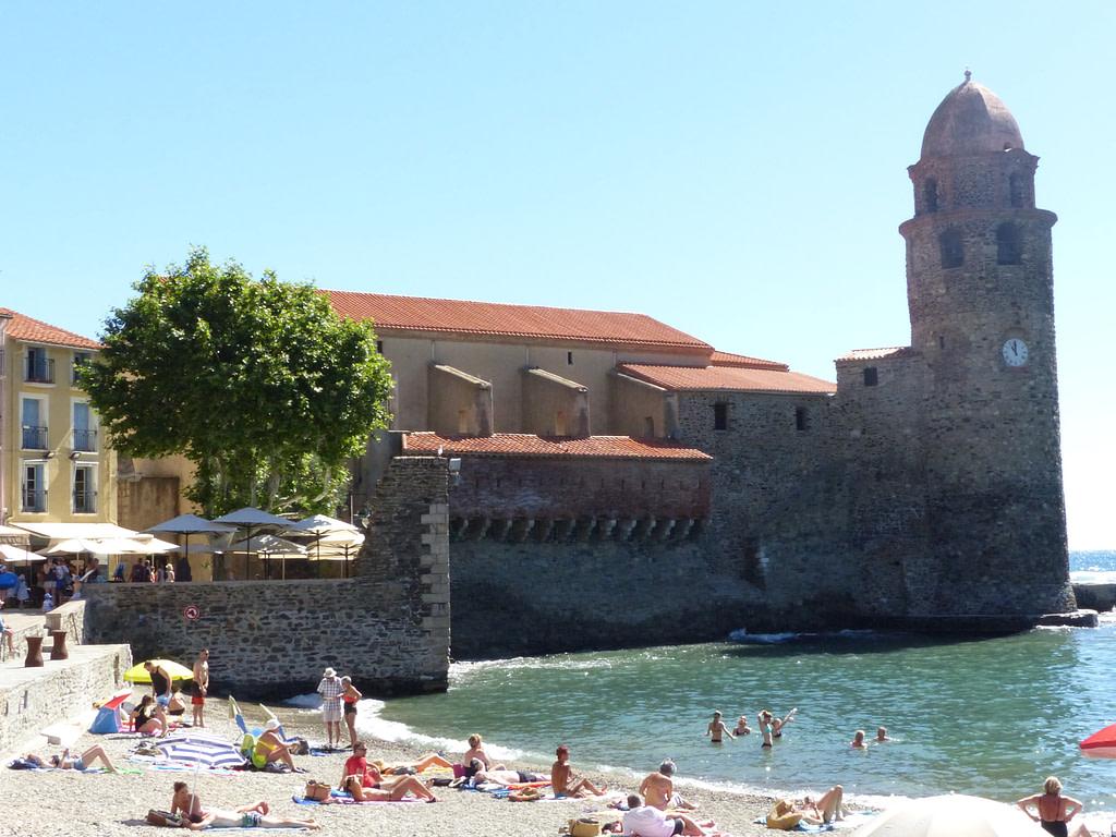 La crique de Collioure