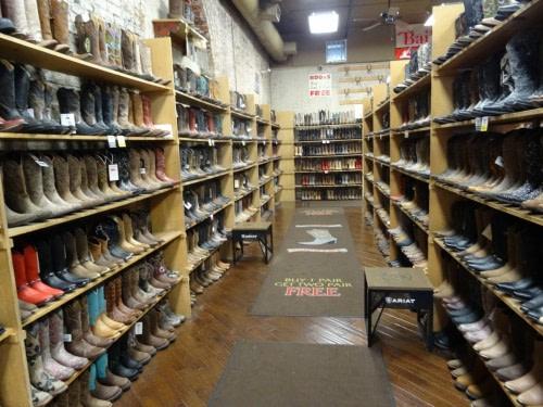 Nashville un magasin de santiags