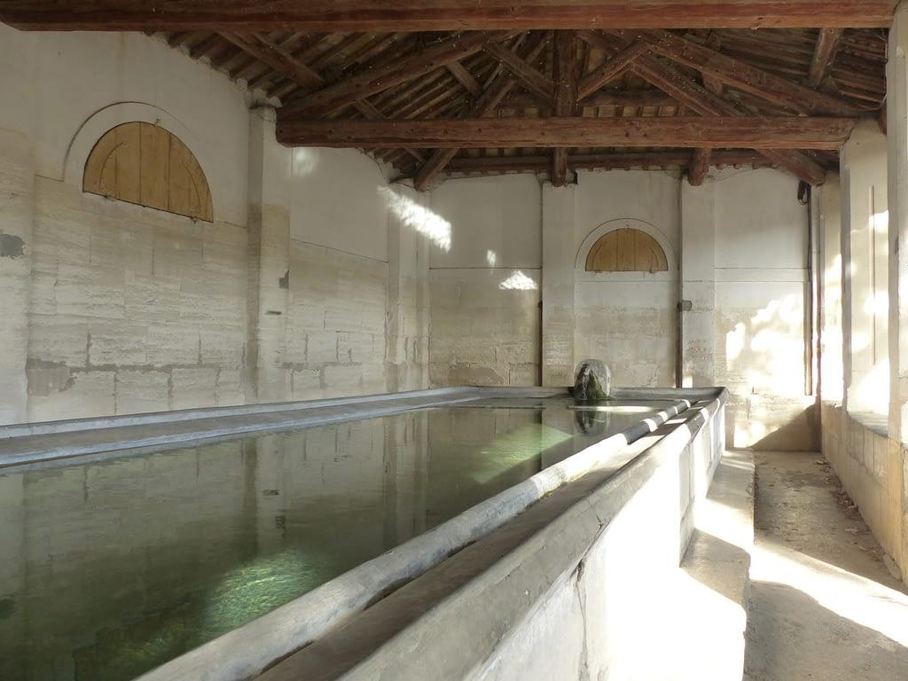 Intérieur du Grand lavoir Napoléon III