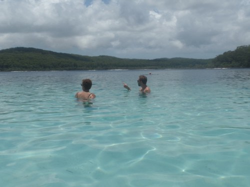Fraser Island Le Lac Mackenzie