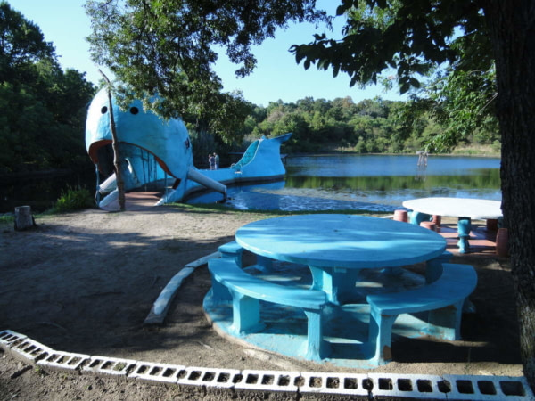 Baleine Bleue Route 66 2011