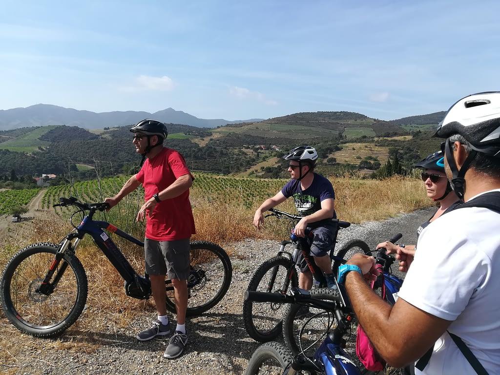 Balade à vélo électrique Banyuls