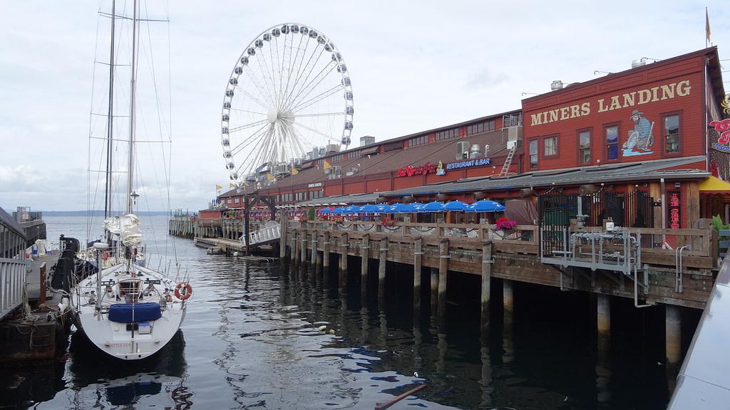 Visite de Seattle La Seattle Great Wheel