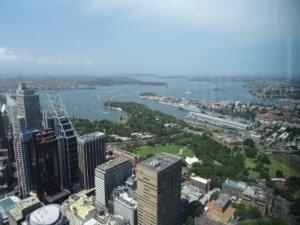 Vue de Sydney de la Sydney Sydney Tower