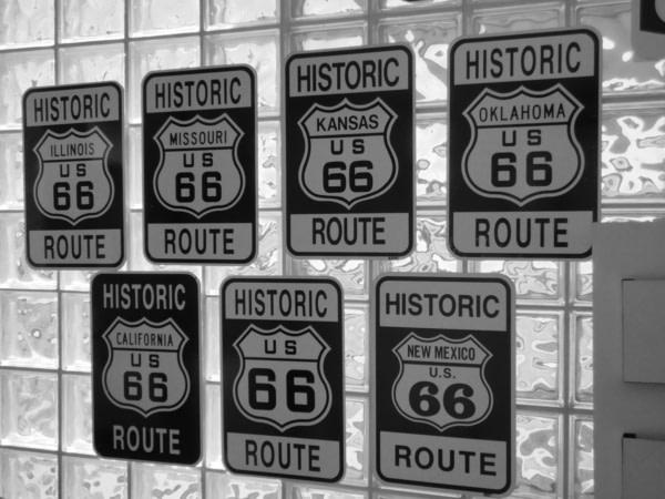 Route 66 Museum à Clinton.