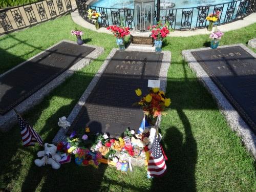 Graceland tombe d'Elvis