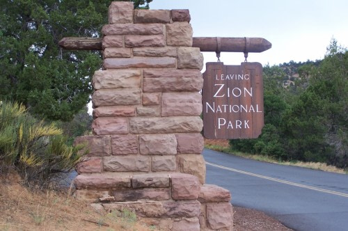 Zion Ouest americain 2007