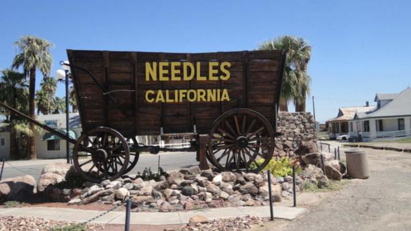 Needles sur la Route 66