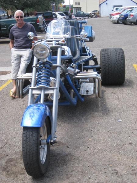 Las Vegas (non un autre, patrie des bikers en Harley) Route 66 2011