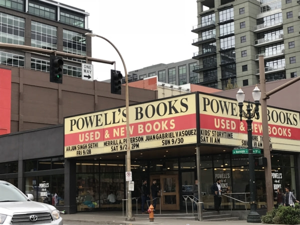 Powell's City of Books plus grandes librairies indépendante au monde