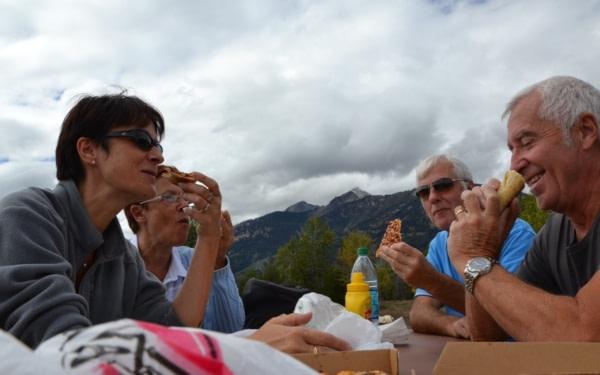 pique-nique à Grand Teton National Park
