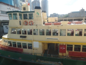 Ferry pour Manly