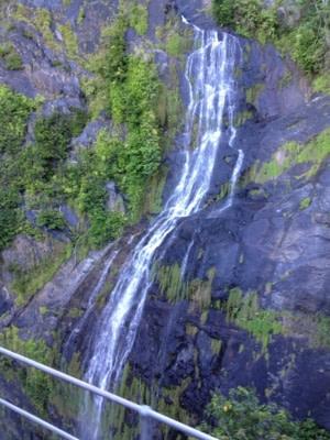 Les chutes Barron Falls