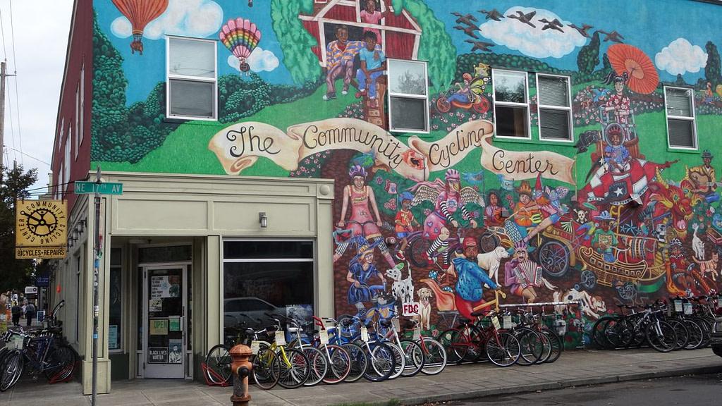 Street art d'Alberta Avenue
