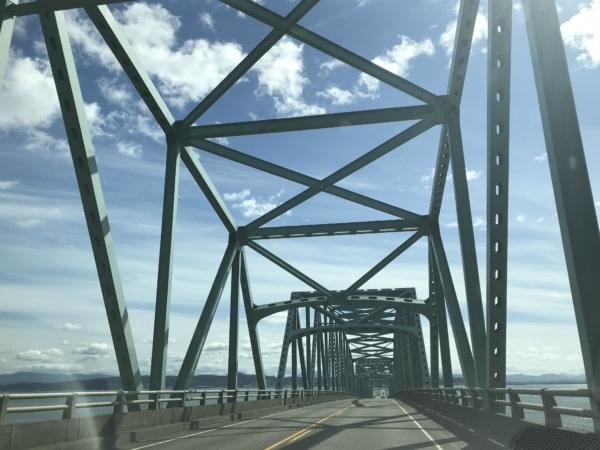 Etape Cannon Beach Astoria-Megler Bridge