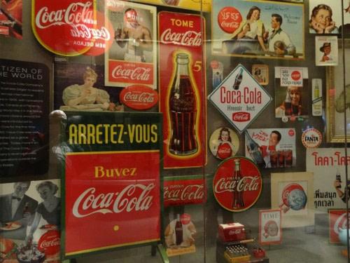 World of Coca- cola le temple de Coca-Cola