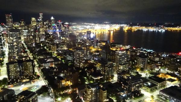 Du haut de la Space Needle de Seattle