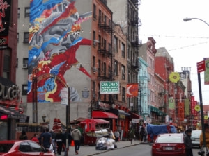 Litte Italy, Chinatown