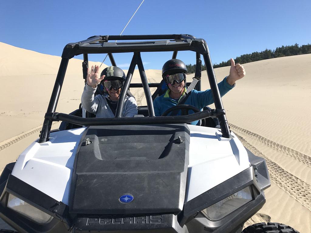 Buggy dans les dunes