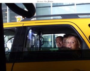 Taxi jaune pour l'appart