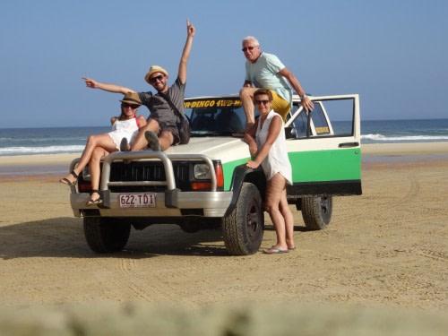 Fraser Island les Jaccar
