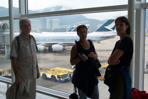 Départ pour  Bali