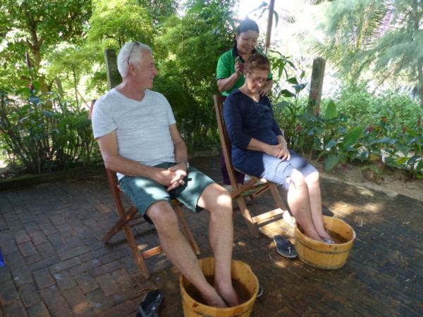 Massage à Tra Que