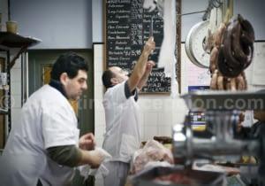 A butcher in San Miguel del Monte - Buenos Aires Province - Argentina