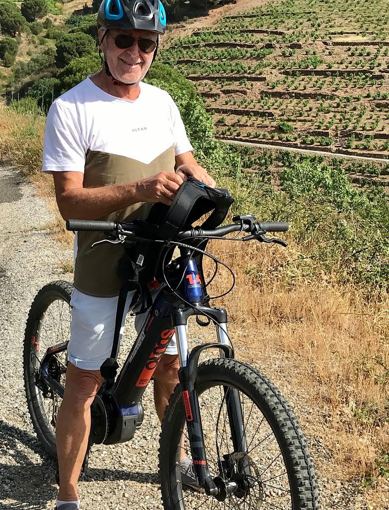 Balade à vélo électrique