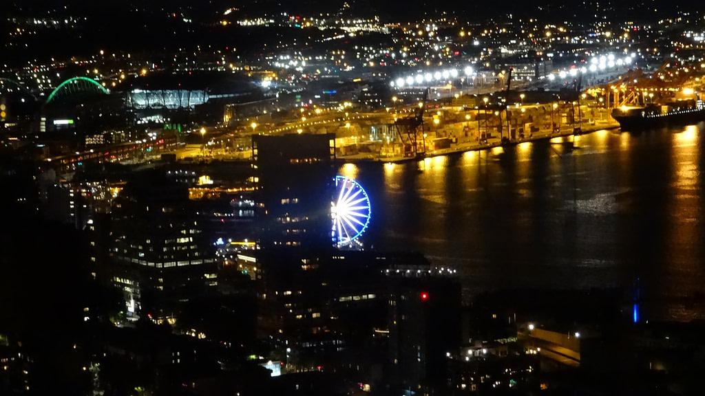 Découvrir Seattle Vue du haut de la Space Needle de Seattle