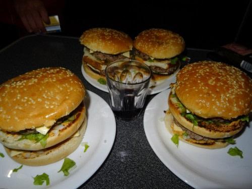 Super les hamburguers